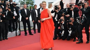 Kate Moss looks red hot at Cannes Film Festival – get her model look for less from the high street