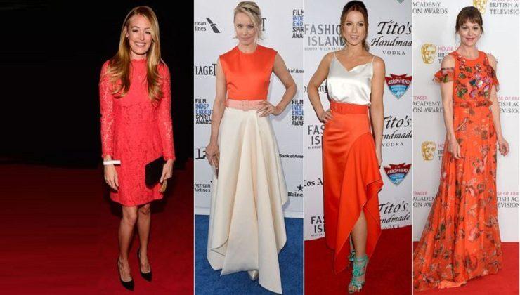 Look hot in orange like Cat Deeley, Rachel McAdams, Kate Beckinsale and Helen McCrory this Summer