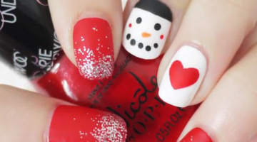 25 DIY Nail Art Ideas which you should try this Winter