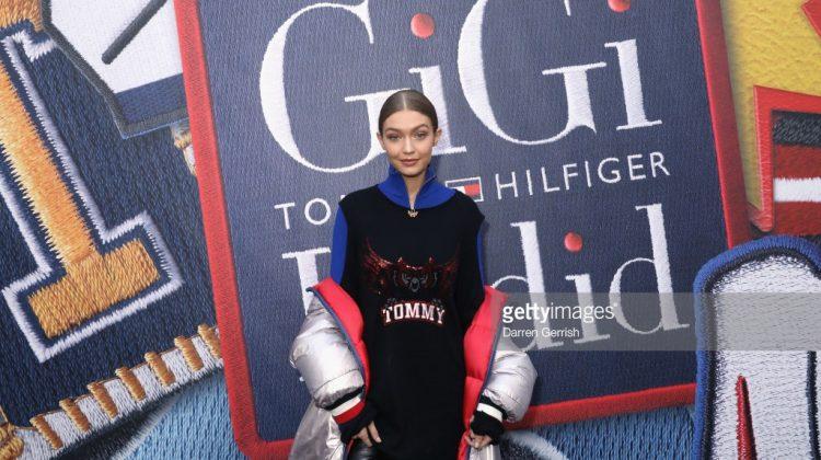 Gigi Hadid rocks Tommy Hilfiger for London Fashion Week